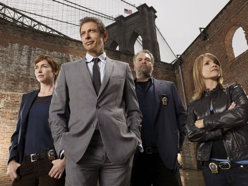 Law & Order: CI wallpaper containing a business suit, a suit, and a dress suit titled Season 8 Cast Promo