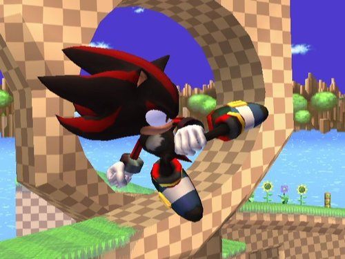 Super Smash Bros. Brawl karatasi la kupamba ukuta titled Shadow The Hedgehog