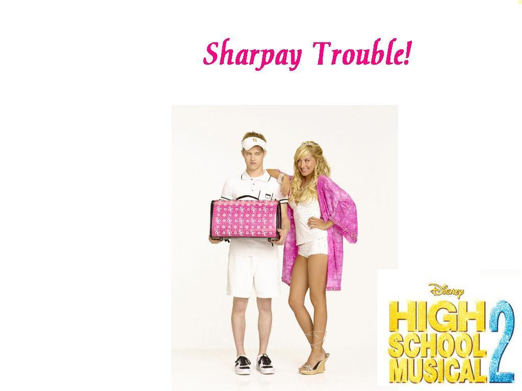 High school musical 3 sharpay trouble