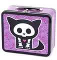 Skelanimals Kit Cat Lunch Box - lunch-boxes photo