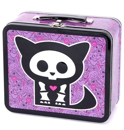 Lunch Boxes wallpaper probably containing a toaster titled Skelanimals Kit Cat Lunch Box