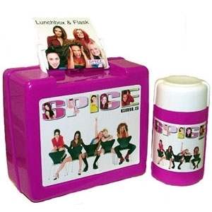 Lunch Boxes wallpaper containing a toaster called Spice Girls Lunch Box