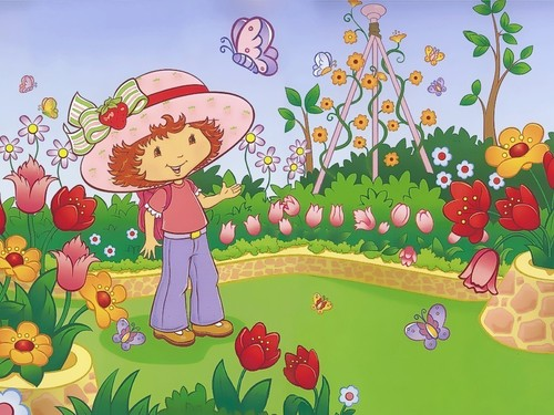 Strawberry Shortcake wallpaper possibly with anime entitled Strawberry Shortcake Wallpaper