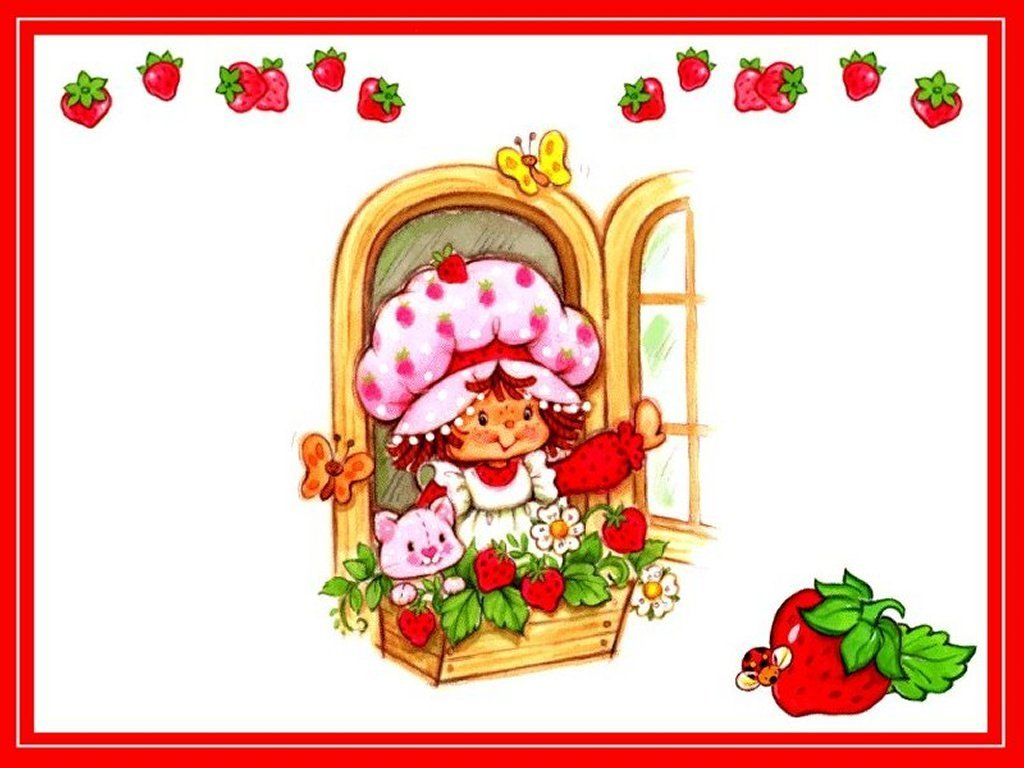 Strawberry Shortcake Wallpaper - Strawberry Shortcake ...