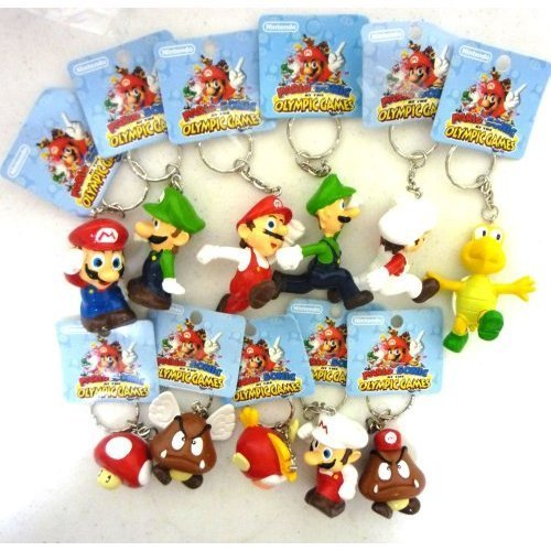 Super Mario Olympic Games Keychains