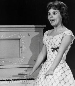 Rock'n'Roll Remembered wallpaper possibly containing a dress, a frock, and a dinner dress titled Teresa Brewer