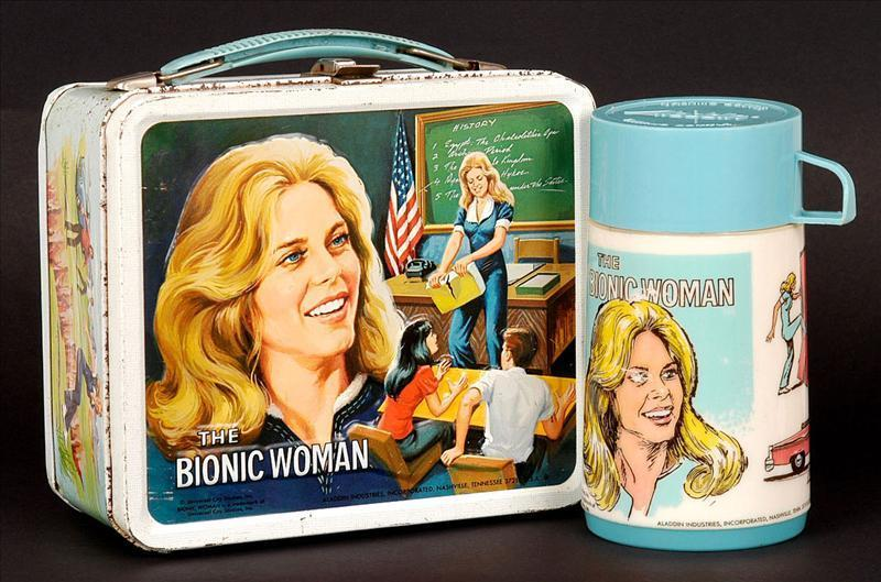 The Bionic Woman Vintage 1978 Lunch Box