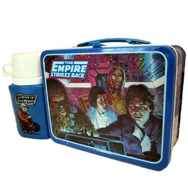 The Empire Strikes Back Vintage 1980 Lunch Box