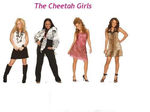 The Fab Cheetah Girls!