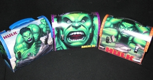 The Incredible Hulk Dome Lunch Boxes