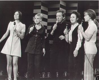 The Lennon Sisters with Andy Williams