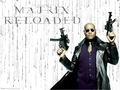 The Matrix Morpheus kertas dinding
