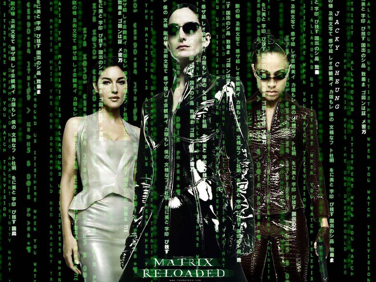 The Matrix fond d'écran