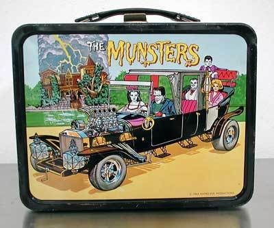 Lunch Boxes wallpaper titled The Munsters Vintage 1965 Lunch Box