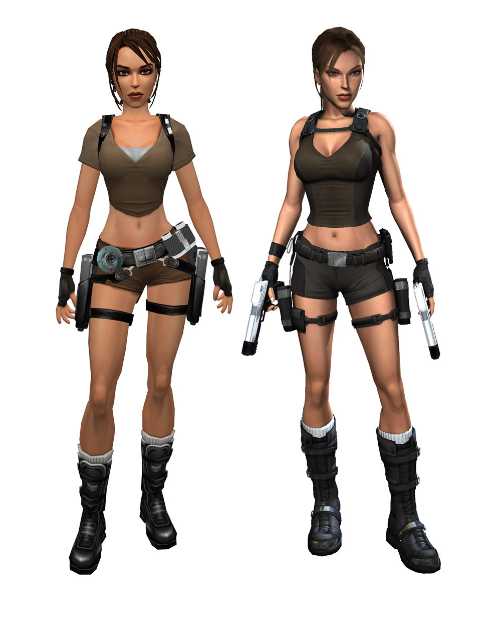 Tomb Raider's Lara Croft.