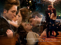 Twilight-Edward &amp; Bella  - twilight-series wallpaper