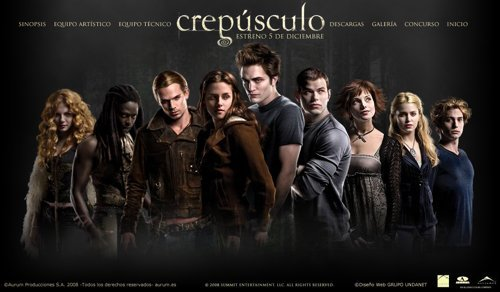 Twilight Movie Site For Spain