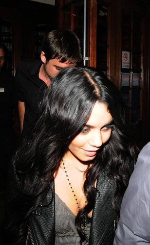 Vanessa out For A Meal