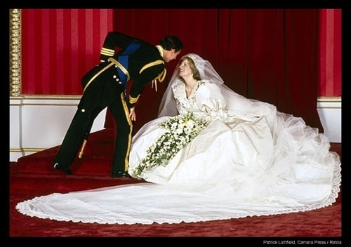 Wedding of Prince Charles and Princess Diana - kings-and-queens Photo