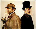Wilson and House as Watson and Holmes! :D