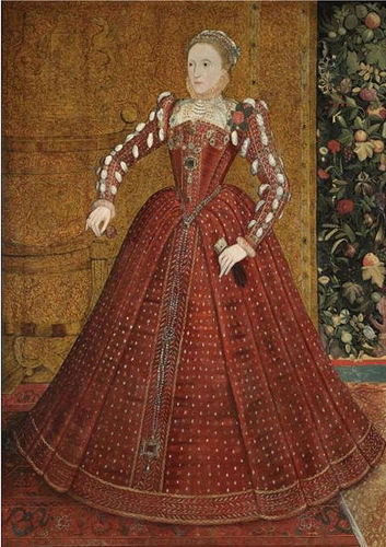 Young queen Elizabeth I