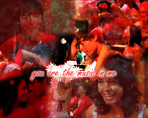 High School Musical wallpaper titled Zanessa!