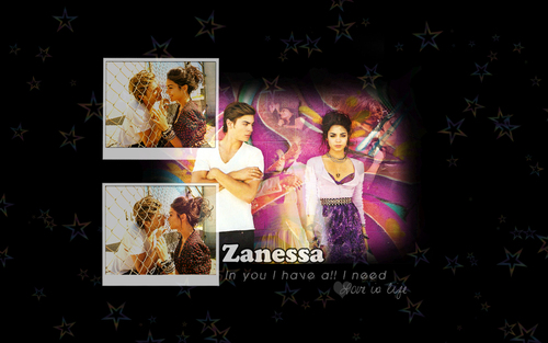 High School Musical wallpaper with anime entitled Zanessa!