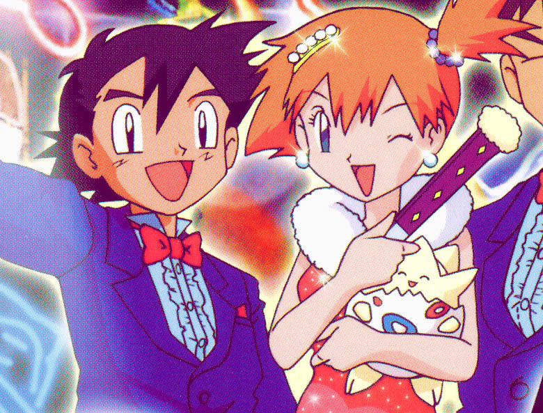 Pokemon Ash and Misty Married