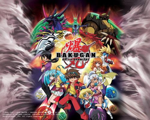 Bakugan Battle Brawlers wallpaper probably with anime entitled bakugan team