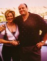carmela and tony - the-sopranos photo