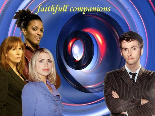 faithfull comp - doctor-who Wallpaper
