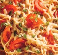 fettuccine with tomatoes