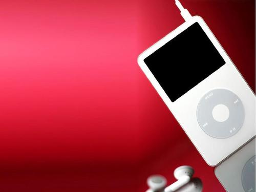 iPod wallpaper containing a video ipod and an ipod called iPod