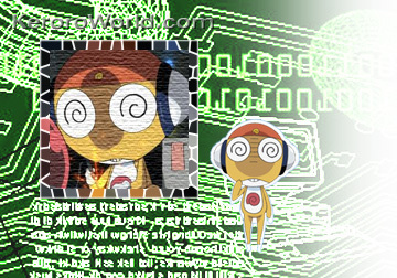 Sgt. Frog (Keroro Gunso) wallpaper probably with anime entitled kururu wallpaper