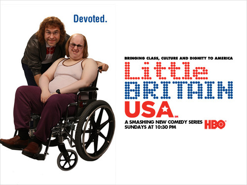 little britain USA Обои