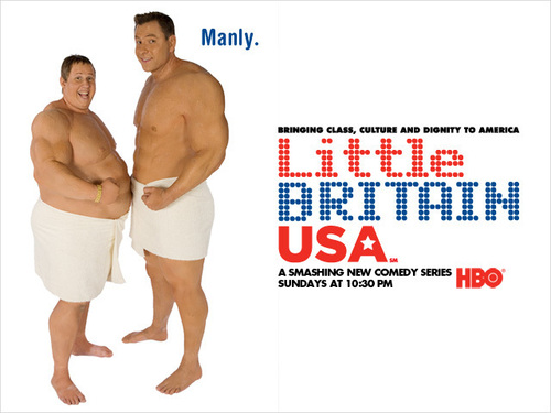 little britain USA fonds d'écran