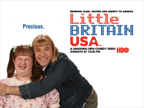 little britain USA Обои