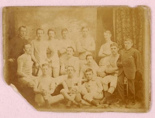 oldest photograph of an Everton team