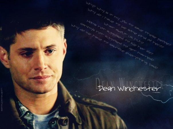 Supernatural sad Dean.