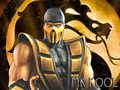 scorpion flames - mortal-kombat wallpaper