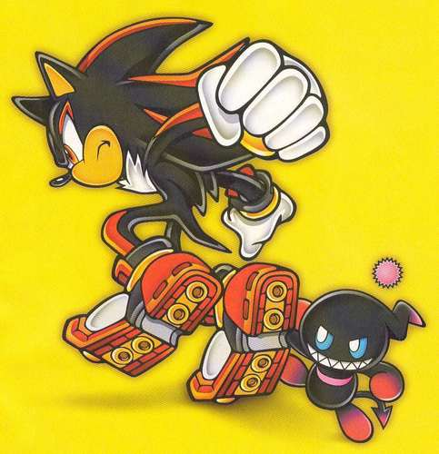 shadow and chao - sonic-chao Photo