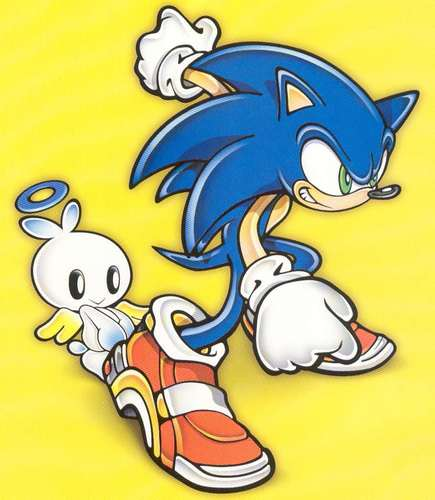 sonic and chao