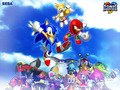 sonic hereos - sonic-characters wallpaper