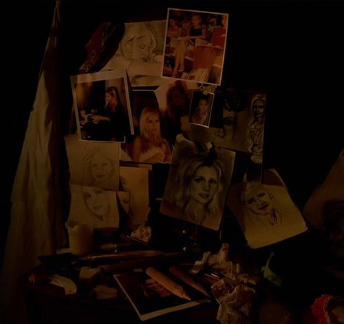 spike's art collection of buffy