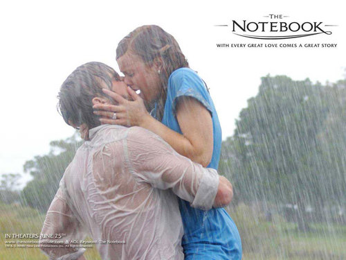 The Notebook wallpaper probably containing a sign called the notebook