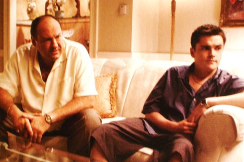 tony and aj soprano