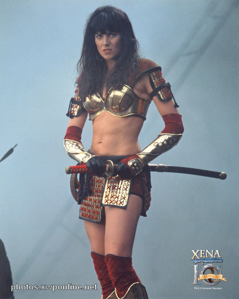 Xena the princess warrior nude
