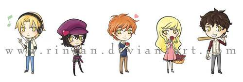 ♥Twilight Chibis♥
