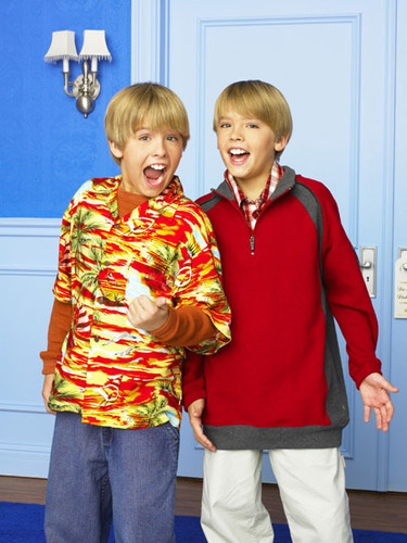 The Suite Life of Zack & Cody wallpaper probably containing an outerwear, long trousers, and a pantleg entitled AHH!!!