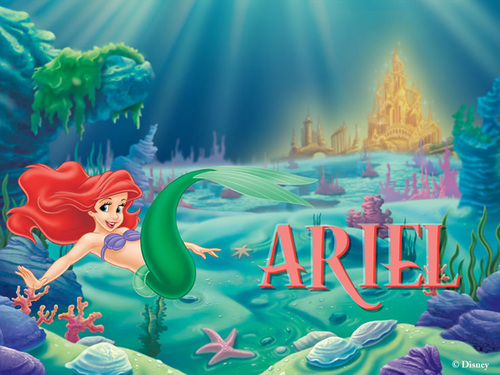 Ariel wallpaper containing anime called Ariel Wallpaper